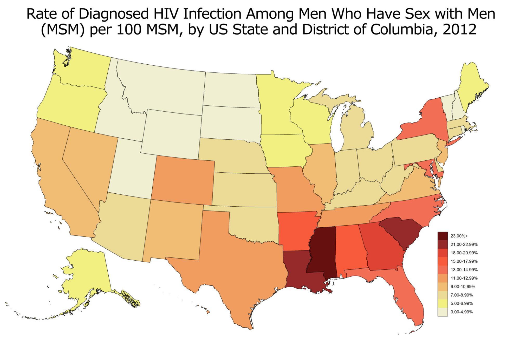 hight resolution of state msm diagnosed hiv prevalence for aidsvu