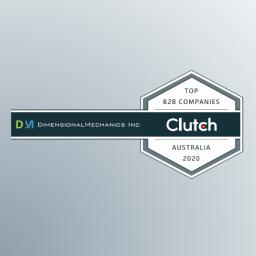 AI Dynamics top B2B company in Australia 2020 by Clutch