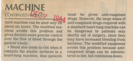 A news clipping of Dr. Bartlett's work. Acquired from http://oldnews.aadl.org/taxonomy/term/28521