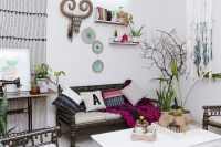 Bohemian Living Room Makeover :: First Edition | | F A S H ...