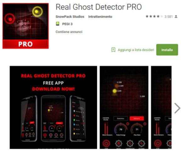 real ghost detec