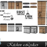 """Мебель и декор для кухни """"Lydia""""."""