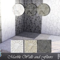 Marble Walls and Floors.