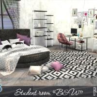 """Комната для студента """"B&W"""""""