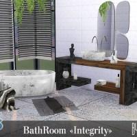 """Набор мебели и декора для ванной """"Integrity"""""""