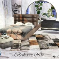 Мебель и декор для спальни Nia.