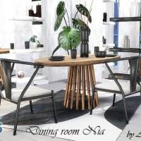 Мебель и декор для столовой Nia
