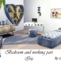 Спальня с рабочим местом Iris