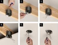 Ceiling Light Box Installation