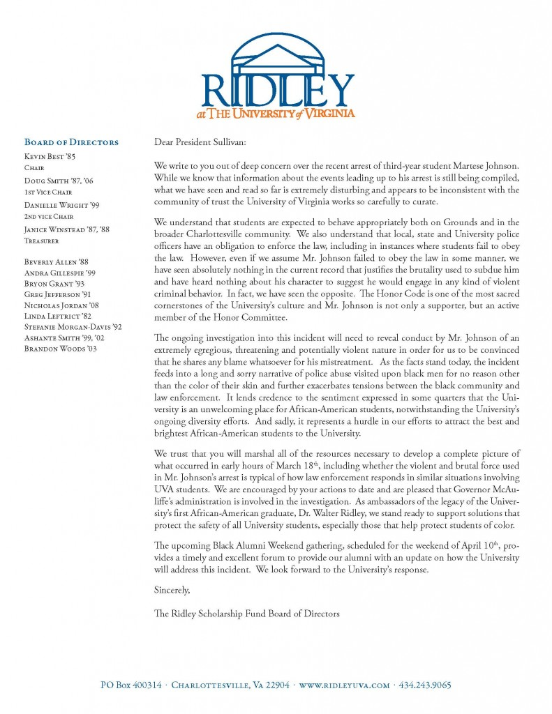 Letter to president sullivan spiritdancerdesigns Gallery