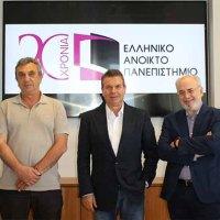Την έδρα του Ελληνικού Ανοικτού Πανεπιστημίου στην Πάτρα επισκέφτηκε ο Υφυπουργός Κοινωνικής Ασφάλισης