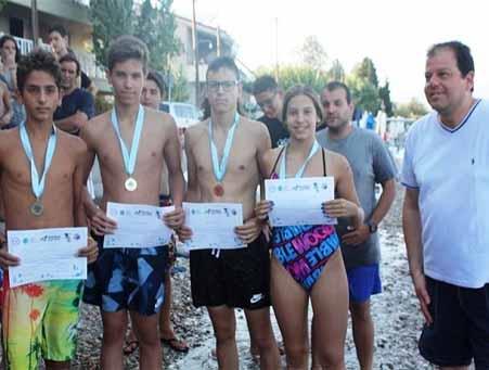 Διεξαγωγή των 5ων Κολυμβητικών Αγώνων Αιγιάλειας σε Ανοικτή Θάλασσα.