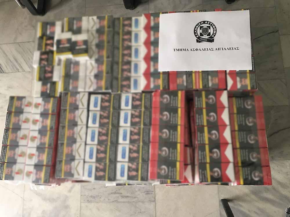 Συνελήφθη διακινητής λαθραίων τσιγάρων στο Αίγιο