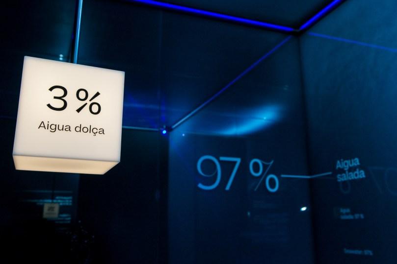 Sala 2 Les dimensions de l'aigua