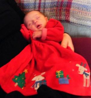 Rosa's Christmas dress