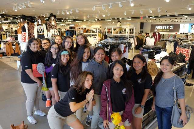 Tourism Field-Trip to GPO, T Galleria (DFS), and Micronesia Mall