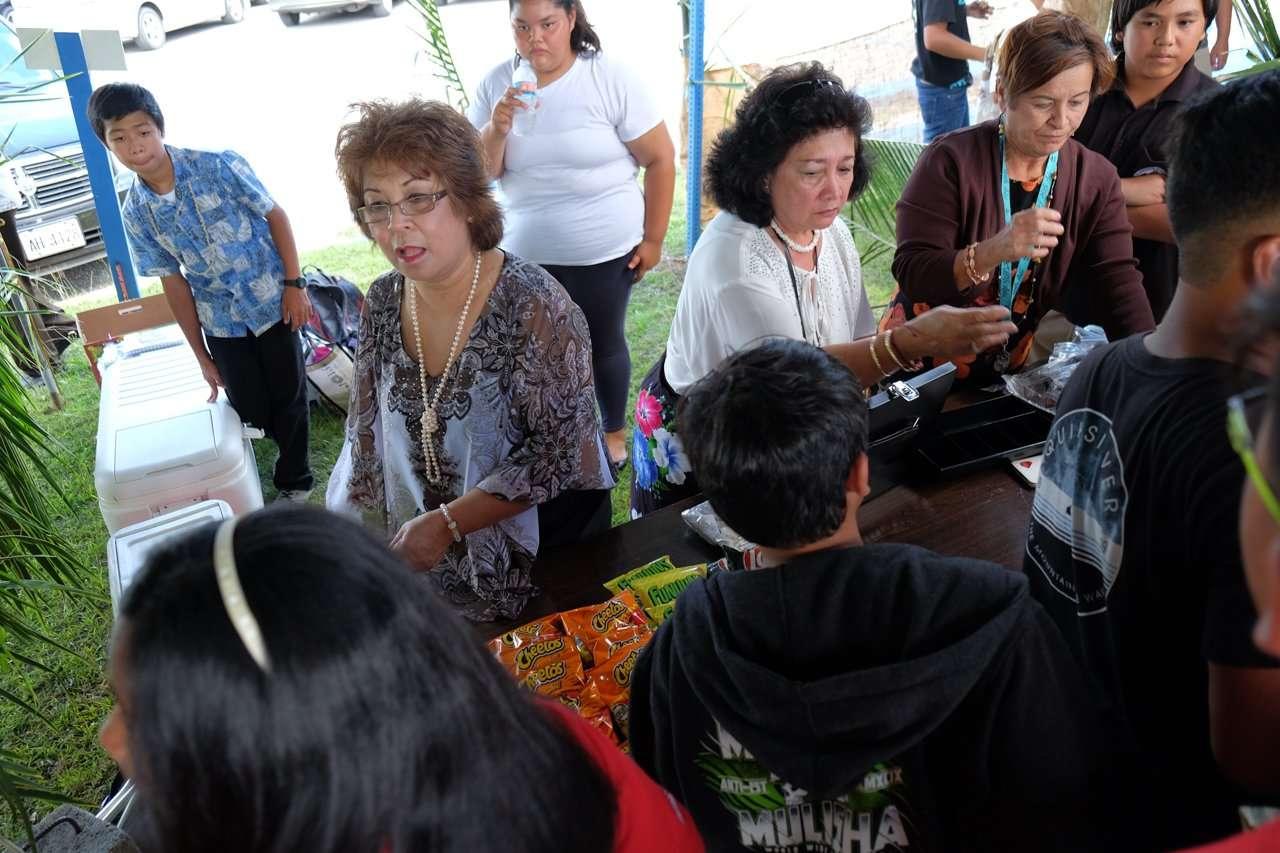 Mes Chamoru Festpac Activity Agueda I Johnston Middle School