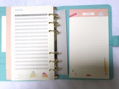 Expenses Page and Notepads