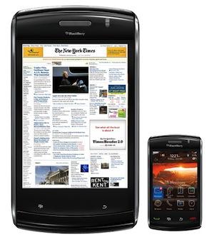 Blackberry lanzará su tablet este año