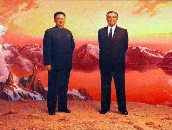 kim jong-il kim il-sung