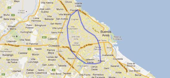 Rosario comparado con Buenos Aires