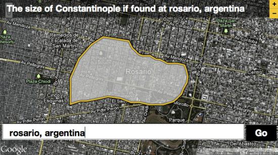 Rosario vs. Constantinopla