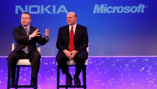 Britain Nokia Microsoft