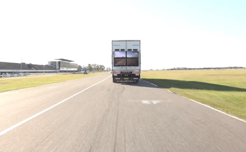 """Samsung presentó en la Argentina el """"Safety Truck"""""""
