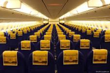 El interior del Boeing 777-200