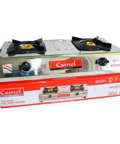 CAMEL Gas Stove (Stainless-Steel Top)