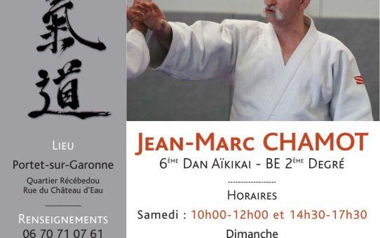 Stage d'Aïkido 2 et 3 Décembre - Portet-sur-Garonne