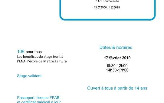 17 février 2019 Stage pour tous / ENA