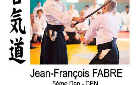 Dimanche 15 mars Stage à Saint-Lizier avec Jean-François Fabre 5ème dan CEN, de 10h à 17h, avec un repas partagé à midi