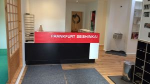 Blick in das Seishinkai Hombu Dojo in Frankfurt/M.