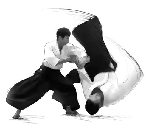 Aikido-Lehrgang in Pfullendorf mit Jochen Maier Shihan am 8. bis 10. Februar 2019