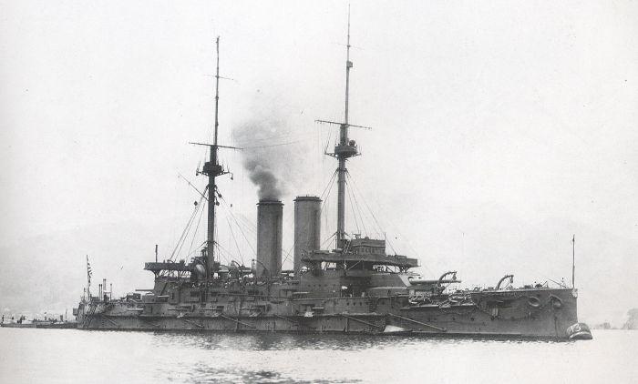 Le Mikasa en 1907