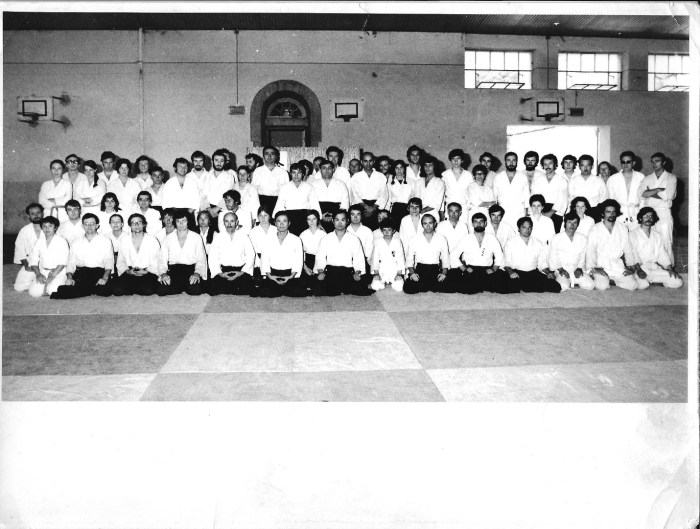 My first Summer Camp with Tamura Sensei and Chiba Sensei – Villefranche-de-Rouergue, 1973