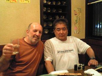 Avec Glenn Yoshida, vers 2014