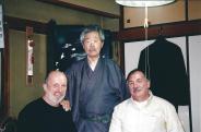 Visite chez Mitsuzuka Sensei avec Michel Prouvèze, 19 mai 2006