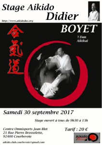 [:fr]Stage 30 Septembre '17 - Courbevoie[:en]Stage September 30 '17 - Courbevoie[:] @ Centre Omnisports Jean Blot