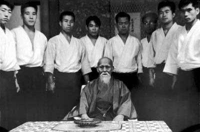 Morihei Ueshiba en 1964