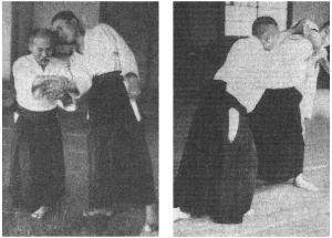 """Relación entre Ikkyo, """"ue kara shita made""""; y Shihonage, """"shita kara ue made""""."""