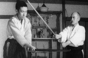 Kisshomaru y Morihei