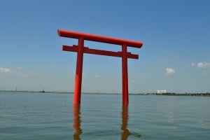 Torii del santuario Kashima