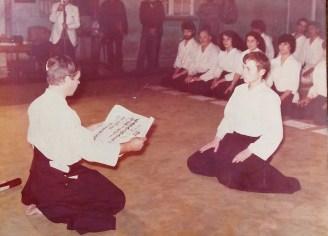 Sensei Jean Marie Castillon en Chile 1980
