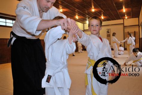 aikido edzések gyerekeknek a Tada Ima Dojoban