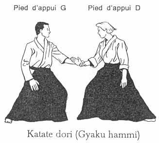 Gyaku hanmi katate dori