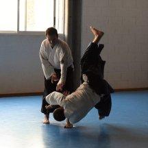 20160130 exámenes Kyu y entrega diplomas Shodan y Nidan, entrenamiento conjunto Aikido Aikikai Universidad de Alicante y Dojo S_12