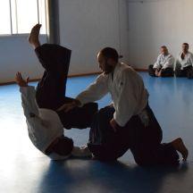 20160130 exámenes Kyu y entrega diplomas Shodan y Nidan, entrenamiento conjunto Aikido Aikikai Universidad de Alicante y Dojo S_13