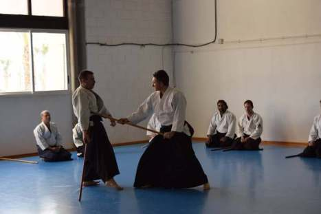20160220 clase conjunta grupos Aikido Aikikai San Vicente - Universidad de Alicante y Dojo San Vicente - 001